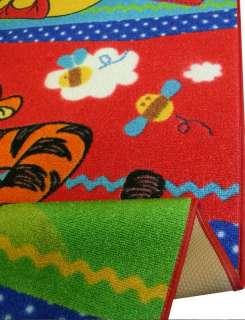 Teppich W80 *Disney Winnie Pooh + Tigger 1 2 3* 95x133