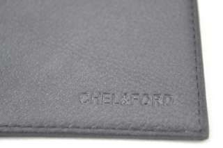 cow leather 22 slot credit card holder BLACK bi fold slim mens wallet