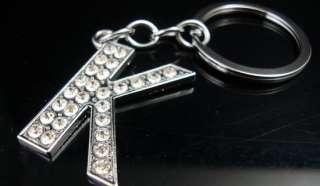 NEW Lots 10 Sets Fashion Crystal Rhinestone Key Rings