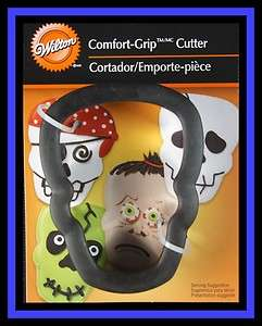 NEW Wilton ***Comfort Grip SKULL*** Cookie Cutter