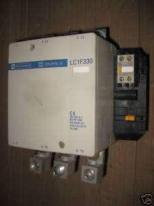 Telemecanique LC1F330 Contactor 370 Amp 600 V Max LC1 F330 120V