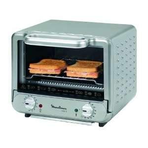 Moulinex OX1102 Mini Ofen Uno S, silber  Küche & Haushalt