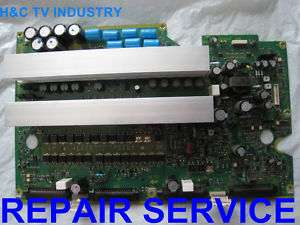 REPAIR SERVICE Panasonic TH 42PZ77U Sustain TNPA4250 ab