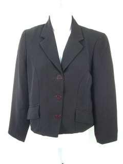 BCBG MAX AZRIA Black Cropped Blazer Coat Jacket Sz. 2 4
