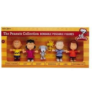 Peanuts Snoopy Linus Lucy Charlie Woodstock Figures New