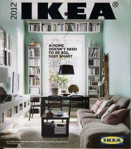 NEW IKEA CATALOGS 2012 INTERIOR DESIGN MAGAZINE BOOK