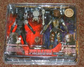 PREDATOR TRU EXCLUSIVE 2 PACK FIGURES CITY HUNTER BERSERKER PREDATORS