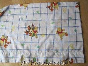 WINNIE POOH TIGGER Full FLAT SHEET Fabric Disney