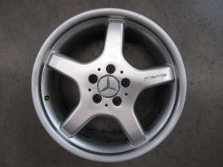 Original Mercedes Benz E Klasse W211 18 Zoll AMG Alufelgen Felgen
