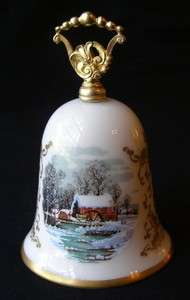 COLLECTIBLE VINTAGE GORHAM FINE CHINA 1978 NOEL CHRISTMAS BELL |