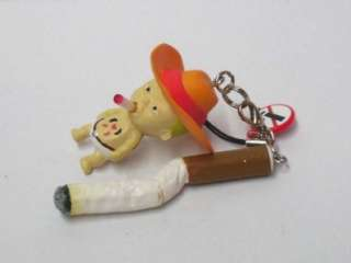 Cool No Smoking Diaper Baby Cigarette Cell Phone Charm