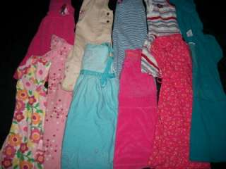 LOT TODDLER GIRL 4T 5T SPRING SUMMER CLOTHES LOT ALL DRESSES