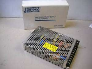 NEW JAMECO SWITCHING POWER SUPPLY FCS604A 110/120 VOLT