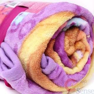 Disney Princess Tangled Rapunzel Microfiber Plush Throw Blanket 50x60