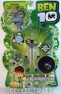 Ben 10 Original Series Action Figure   Greymatter