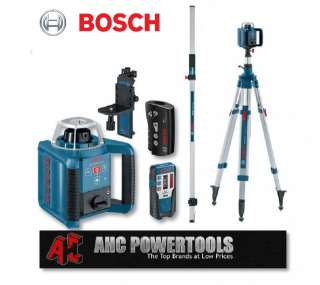 Bosch GRL 300 HV Pro Site Rotary Laser Level Kit GRL300