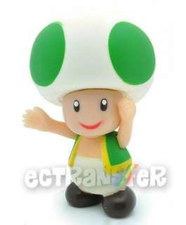Super Mario Bros 3.5 Green TOAD Figure Doll/MS728