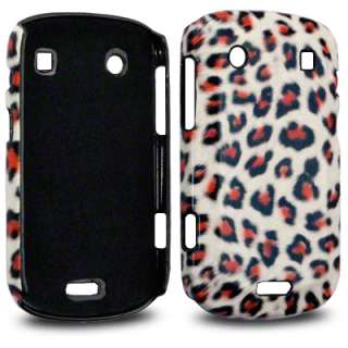 LEOPARD PU LEATHER CASE FOR BLACKBERRY BOLD 9900