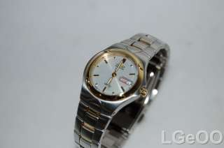 Citizen Eco Drive Ladies Two Tone St. Steel Watch AS IS