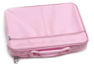 PINK LAPTOP NOTEBOOK CASE BAG FIT 17 INCH DELL HP SONY