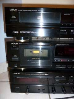 Denon Anlage CD Player DCD 890, Receiver DRA 545RD, Tape DRM710, in