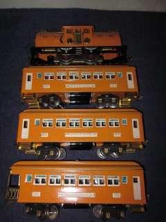 RARE LIONEL 4 BILD A LOCO ELECTRIC W/605 605 606 PASSENGER CARS