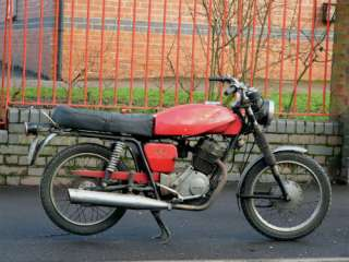 Moto Guzzi stornello 160 4 stroke, easy project