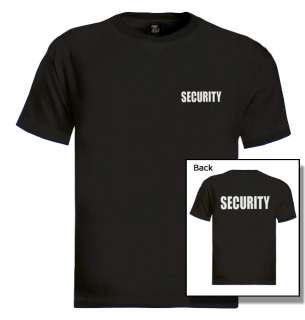 SECURITY T SHIRTS (ROUND NECK)