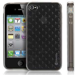 GRIFFIN SMOKE MOTIF GLOSSY SKIN CASE COVER iPHONE 4