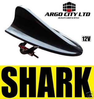 BLACK SHARK FIN AERIAL ANTENNA BMW ALPINA E30 E36 E46