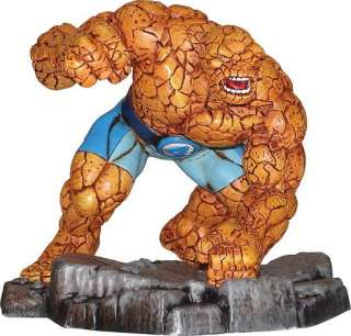 The THING Marvel Comics CORGI Statue Metal Figure Fantastic 4 Four