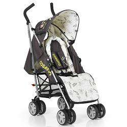 NEW COSATTO SWIFT LITE SUPA LITTLE MONSTER BLACK BUGGY STROLLER WITH