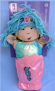 Manhattan Toy Silly Sounds Mermaid Hand Puppet NWT