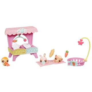 Littlest Pet Shop Babies Themed Pack   Bunny Hutch   Hasbro 1001119