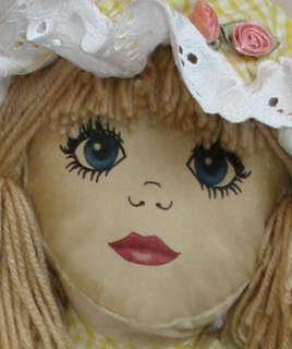 Modern Rag Doll SEWING PATTERN 23 doll   transfer face