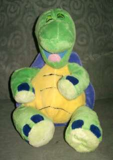 Laughing Sounds Green Turtle Plush Stuffed Animal Play Toy 12