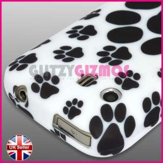 ANIMAL FOOT PRINT DESIGN SILICONE GEL CASE COVER FOR SAMSUNG GALAXY Y