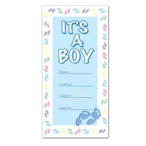 30x60 Its A BOY Baby Shower Door Cover Welcome Home