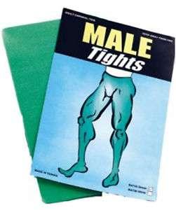 MENS LADIES GREEN TIGHTS FANCY DRESS ROBIN HOOD COSTUME