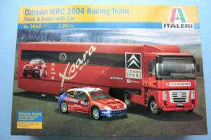 ITALERI 1/24 CITROEN WRC 2004 RACING TEAM (3830)