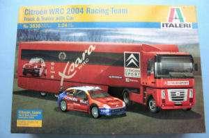 ITALERI 1/24 CITROEN WRC 2004 RACING TEAM (3830)
