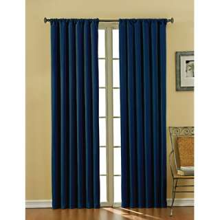 Eclipse Curtains Venetian Blackout Grommet Window Drape in Mushroom