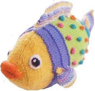 good unused condition for Finnygan a multi coloured soft toy fish