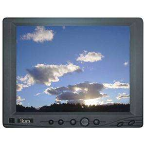 Ikan 8.0 V8000T Touch Screen VGA LCD Monitor, 1024 x 768 with Built