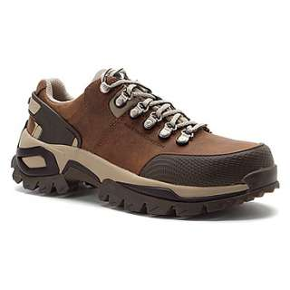 Cat Footwear Antidote Steel Toe  Mens   Dk Beige Pull Up Leather