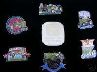 RARE FRANKLIN MINT OFFICIAL JOHN DEERE TRACTOR BADGES
