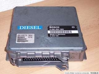 motorsteuergeraet bmw diesel bmw e36 325 tds bosch 0 281 001 193