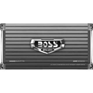 BOSS AUDIO 1 Channel 3000 Watt Armor MOSFET Class D Power Amplifier