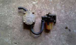 1994 YAMAHA 115HP FUEL PUMP & FUEL FILTER