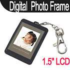 LCD Heart Shape Digital Photo Frame Picture Album with Keychain #PF3